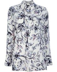 Balenciaga Printed Shirt gray - Lyst