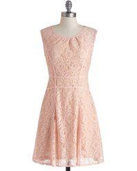 ModCloth Garden Chess Dress - Lyst