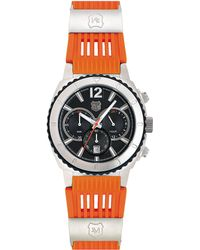 Andrew Marc - Mens Sport Chronograph Watch with Orange Strap - Lyst