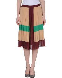 Borbonese Mini Skirt - Lyst