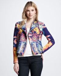 Clover Canyon - Valley Floral-Print Twill Jacket - Lyst