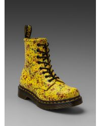 Dr. Martens 8eye Boot in Sun Yellow - Lyst