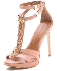 Rachel Roy - Dalyce Studded Sandals - Lyst