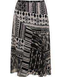 Ann Harvey   Printed Skirt   Lyst