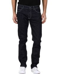 Calvin Klein B Denim Pants - Lyst