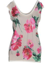 Dolce & Gabbana Sleeveless Sweater - Lyst