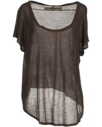 Enza Costa Short Sleeve T-Shirt - Lyst