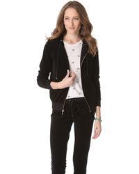 Juicy Couture - Relaxed Velour Hoodie - Lyst