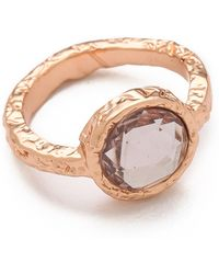 Marc By Marc Jacobs - Exploded Bow Tiny Crystal Ring - Lyst