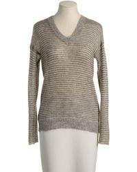 Massimo Alba Long Sleeve Sweater - Lyst