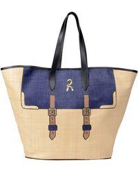 Roberta Di Camerino Large Leather Bag - Lyst