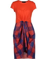 Thakoon Short Dresses - Lyst