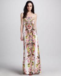 Velvet By Graham & Spencer Oahu Printed Maxi Dress - Lyst