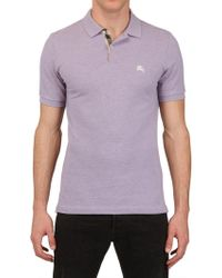 Burberry Brit Cotton Piquet Polo Shirt - Lyst
