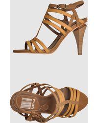 Get U - High-heeled Sandals - Lyst