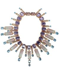 House of Lavande - Crystal Resin Collar Necklace - Lyst