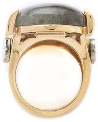 Kelly Wearstler - Oval Stone Cocktail Ring - Lyst