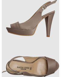 Nadia Grilli - Platform Sandals - Lyst