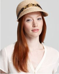 Rachel Zoe - Straw Newspaper Boy Hat - Lyst