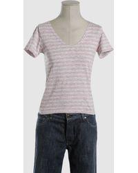 Charlott Short Sleeve T-Shirt - Lyst
