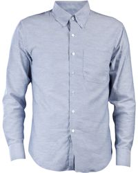 Naked & Famous Regular Fit Chambray Shirt - Lyst