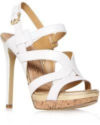 Nine West Breezin Sandals white - Lyst