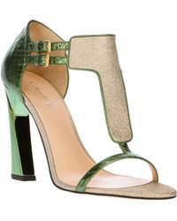 Calvin Klein - Highheeled Sandal - Lyst