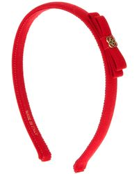 Ferragamo Bow Head Band - Lyst