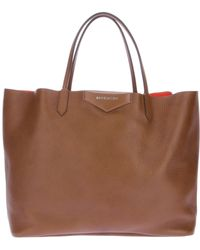 Givenchy Large Antigona Bicolour Grain Leather Shopper - Lyst