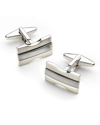Kenneth Cole Reaction Hourglass Cufflinks - Lyst