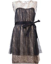 Lanvin Vault Fitted Dress - Lyst