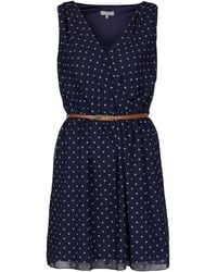 Topshop Cross Bust Dress  - Lyst
