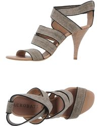 Acrobats Of God High-Heeled Sandals - Lyst