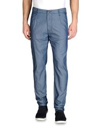 Armani Jeans Pant with Tucks - Lyst