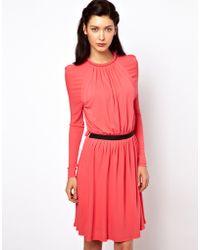 Sophia Kokosalaki - Mini Dress with Tube Neck Line - Lyst