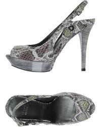 Stuart Weitzman Platform Sandals - Lyst