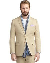 Brooks Brothers Fitzgerald Fit Twill Suit - Lyst