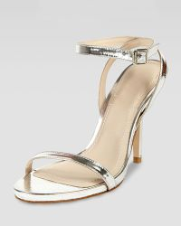 Elizabeth And James Toni Ankle Strap Bare Sandal - Lyst