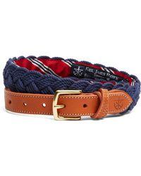 Brooks Brothers - Kiel James Patrick Bb#1 Braided Belt - Lyst