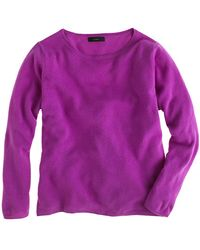 J.Crew Collection Cashmere Boxy Boy Sweater - Lyst