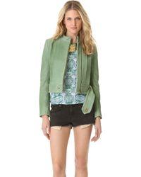 Kelly Wearstler Jasper Leather Jacket - Lyst