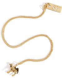 Sophie Hulme - Camel Pendant Necklace - Lyst