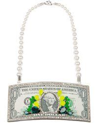 Bijoux De Famille - Dollar Bill Necklace - Lyst