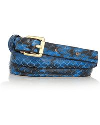 By Malene Birger - Menelao Snake Belt - Lyst