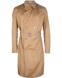 Carven Double Breasted Trench Coat - Lyst