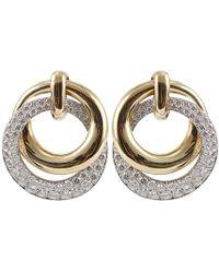 David Webb | Diamond Earrings | Lyst