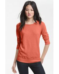 James Perse Vintage French Terry Sweatshirt - Lyst