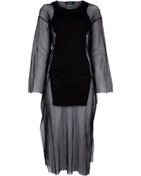 Jean Paul Gaultier Layered Dress - Lyst