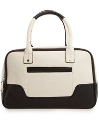 Mango Touch Pocket Twotone Tote Bag - Lyst