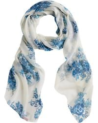 Joules - Wensley Bouquet Print Scarf - Lyst